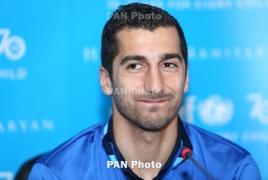 Henrikh Mkhitaryan set to miss Armenia's upcoming int'l fixtures