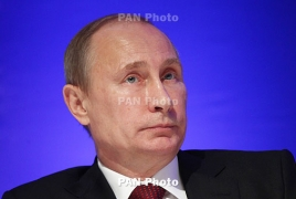 Armenia PM, President congratulate Putin's birthday