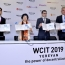 New souvenir sheet celebrates WCIT2019 in Yerevan