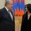 Armenia President hosts Kim and Kourtney Kardashian