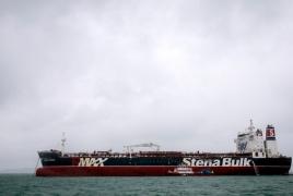Иранский нефтяной танкер взорвался у побережья Саудовской Аравии
