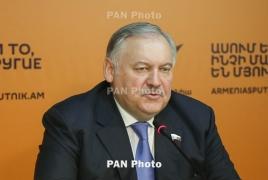 Саакян и Затулин обсудили связи между Арцахом и РФ