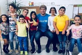 Olympic champion Artur Aleksanyan named UNICEF Ambassador