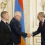 Armenia PM, OSCE envoys talk Karabakh settlement in Yerevan