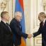 Премьер РА и сопредседатели МГ ОБСЕ обсудили карабахское урегулирование