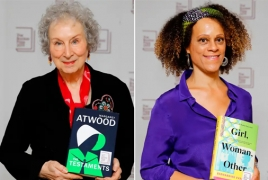 Margaret Atwood and Bernardine Evaristo win Booker prize