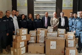 Armenian mission donates medical supplies to Aleppo hospital