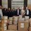Армянская гуммиссия в Сирии передала военному госпиталю Алеппо медпринадлежности