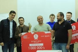VivaCell-MTS rewards winning teams of at Digital UAV Forum Hackathon