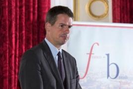 French envoy to Armenia jokes about Trump's