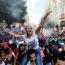 Протестующие в Ливане спели для напуганного ребенка популярную песню Baby Shark