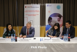 Coca-Cola Hellenic Armenia, Teach for Armenia agree to cooperate