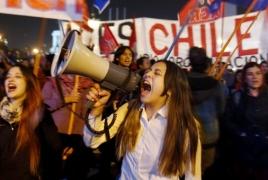 Крупнейшая в истории Чили акция протеста: На улицы вышли более 1 млн человек