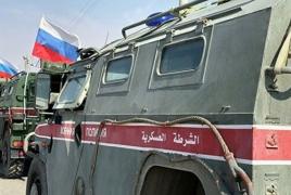 Российская военная полиция начала отвод курдов от сирийско-турецкой границы