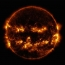 NASA shares photo of sun looking like a giant flaming jack-o'-lantern