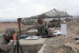 ՊՆ հրետանային ստորաբաժանումները  մարտական կրակով զորավարժություն են անցկացրել