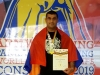 Armenian athlete becomes four-time world armwrestling champion