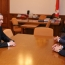 Armenia's Security Council Secretary meets Artsakh President