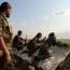 SDF troops