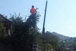 VivaCell-MTS helps install LED lamps in remote Armenian community