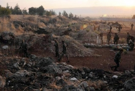 Syrian army moves heavy weapons to northeast Syria