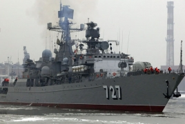 Russian warships fired missiles near the coast of Israel: report