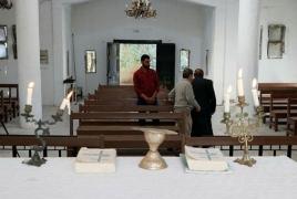 Tel Abyad Armenian church opens for worship