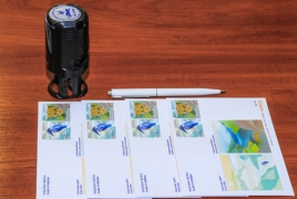 New postage stamps celebrate Armenia's flora and fauna