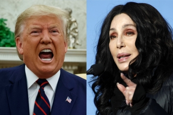 Cher accuses Trump of helping Turks massacre Kurds in Syria