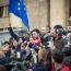 Թբիլիսիում ցուցարարները փակել են Ռուսթավելու պողոտան