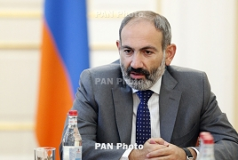Armenia PM traveling to Italy on November 20-22