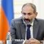 Armenia PM traveling to Italy on November 20-22