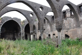 Historic Armenian church in Turkey on the verge of destruction