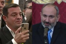 Инцидент между Пашиняном и азербайджанским блогером в церкви в Милане