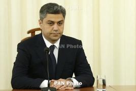 Armenia Football Federation chief steps down