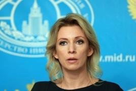 Захарова: Россия приветствует взаимные поездки журналистов Армении и Азербайджана