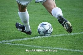 Armenia drop three more spots in latest FIFA ranking