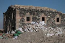 Armenian church in Turkey turned into trash dump