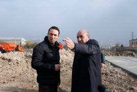 Երևանում ավտոբուսների հավաքակայանի շինաշխատանքներն ավարտական փուլում  են