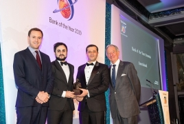 The Banker names Ameriabank Armenia's Bank of the Year in 2019