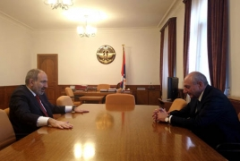 Armenian PM, Artsakh President discuss relations, polls