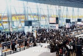 Пассажиропоток в аэропортах Армении в ноябре вырос на 9.4 %
