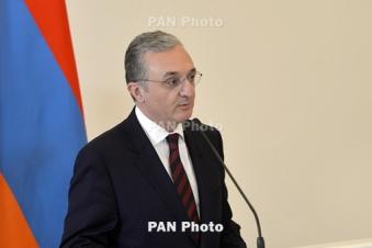 Armenia FM stresses Karabakh people's right to self-determination