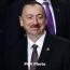 Azerbaijan sets early parliamentary elections for Feb. 9