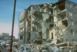 В Армении вспоминают жертв Спитакского землетрясения