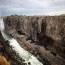 Victoria Falls dries after worst drought in a century