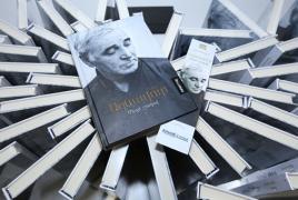 Ազնավուրի  «Մեղմ շշուկով» գիրքը ներկայացվել է հայ ընթերցողին