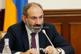 Пашинян: Армении нужно вооружение не для войны, а для мира