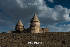 Iran building campsite near St. Thaddeus Armenian monastery