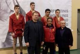 Юные самбисты из Армении завоевали 2 медали в Литве